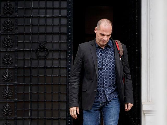 Der griechische Finanzminister Gianis Varoufakis.