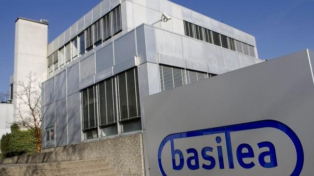 Firmensitz von Basilea an der Grenzacherstrasse in Basel.