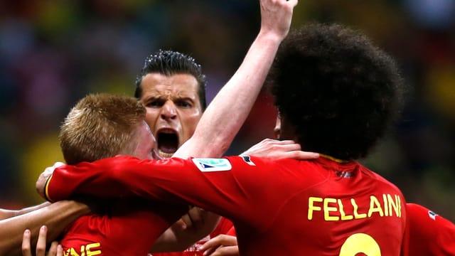 Belgien jubelt.