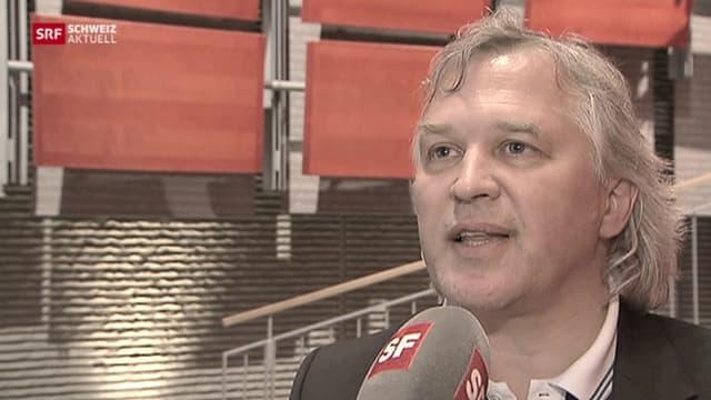 Andreas Wyder im Interview mit SRF