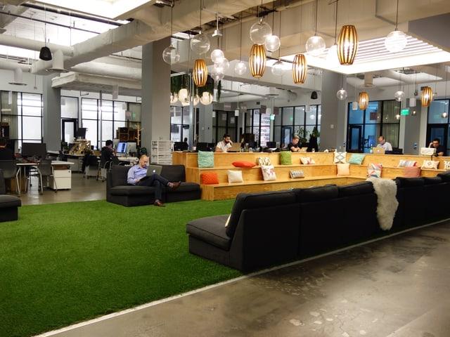 Ein so genanntes Co-Working-Büro in San Francisco.