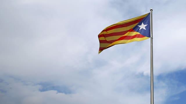 La bandiera dals separatists catalans.