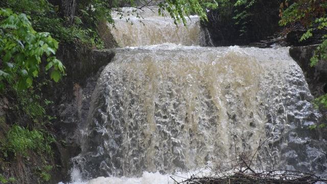 Hochwasser im Emmental am 29. Mai.
