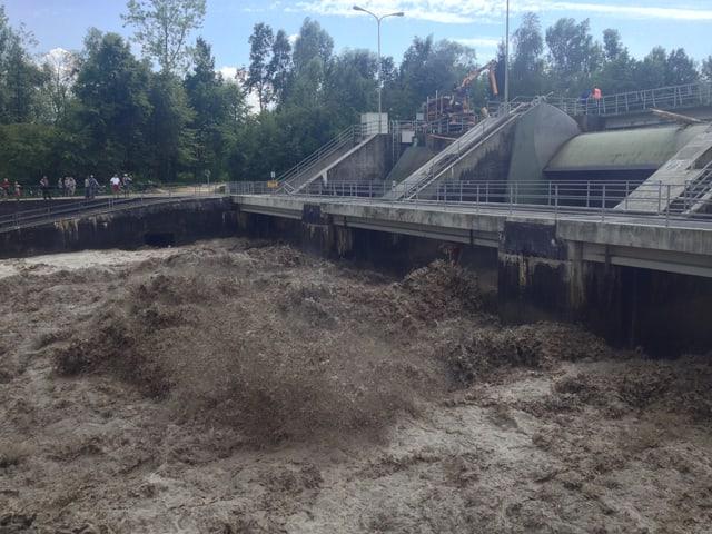 Emme, Hochwasser