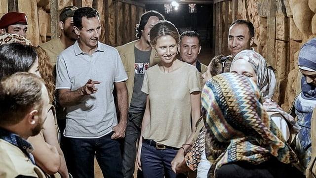 Assad und Asma