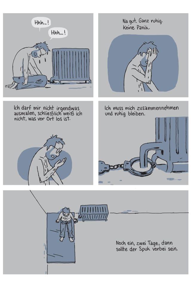 Ausschnitt aus dem Comic «Geisel»