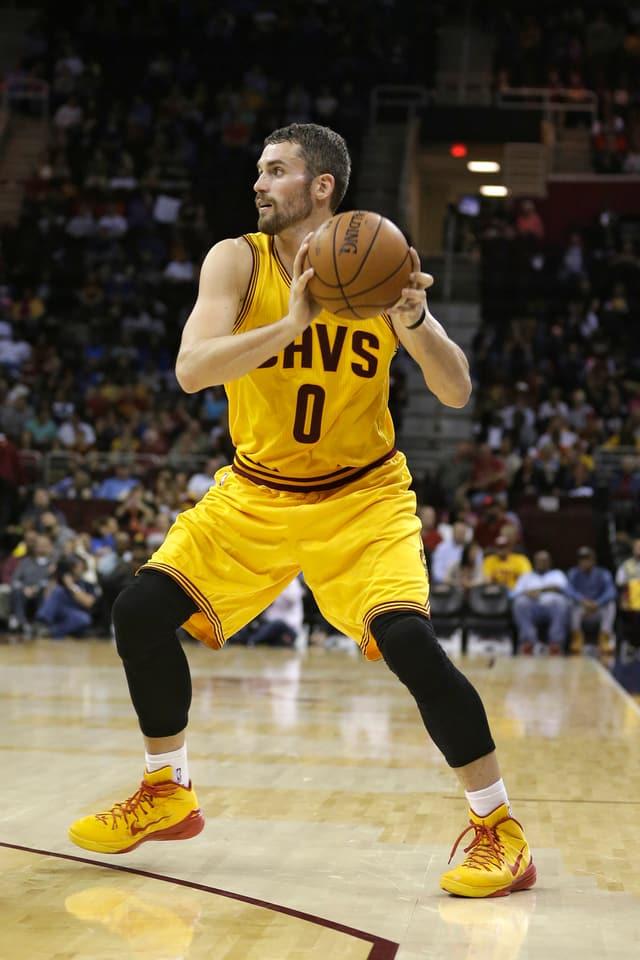Kevin Love im Dress der Cleveland Cavaliers