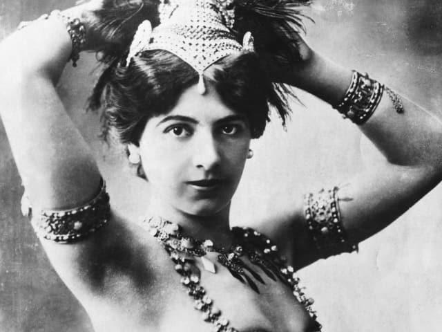 Porträt Mata Hari.