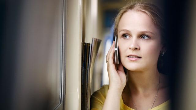 Telefonieren im Zug