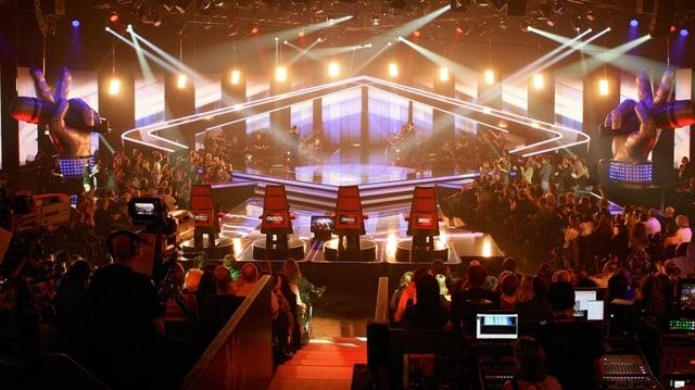 Video «Die 1. Live-Show von «The Voice of Switzerland»» abspielen