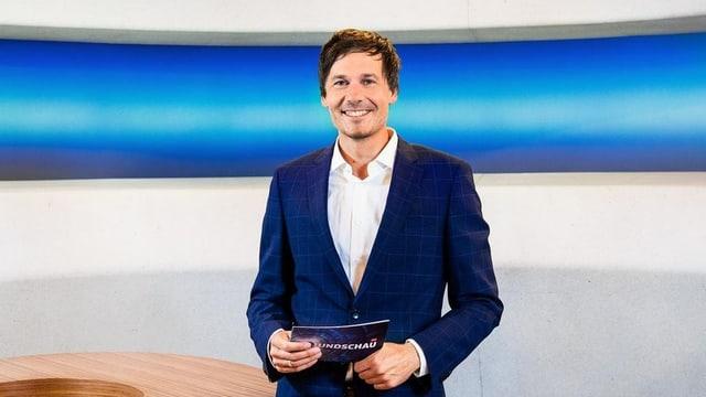 Dominik Meier im Rundschau-Studio
