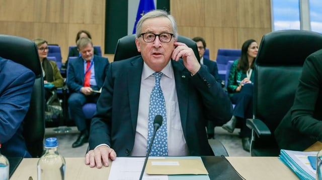 Portrait Jean-Claude Juncker.