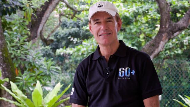 Zu sehen WWF-Chef Marco Lambertini.