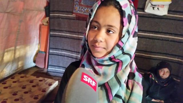 Die 13-jährige Nari aus Syrien möchte im Libanon in die Schule