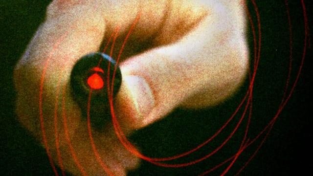 Ein Laserpointer