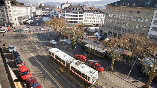 Der St.Galler Marktplatz