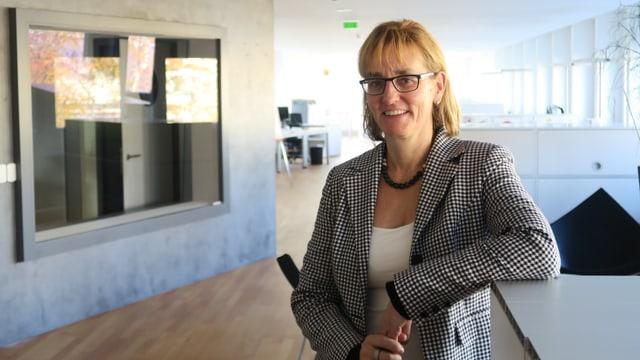 Porträt Yvonne Hunkeler