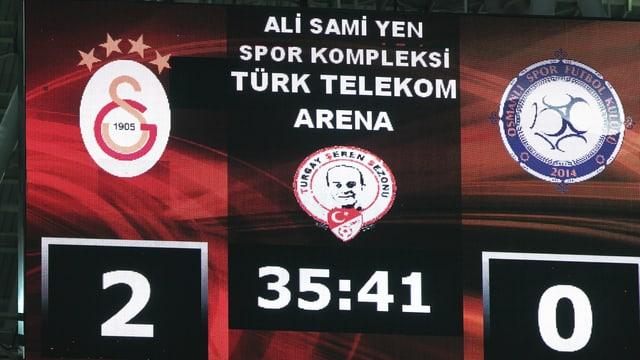 Die Heimstätte von Galatasaray wird umgetauft.