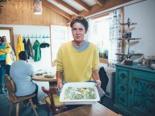 Frisch, frischer, die Tortellini von Ramona Caduff.