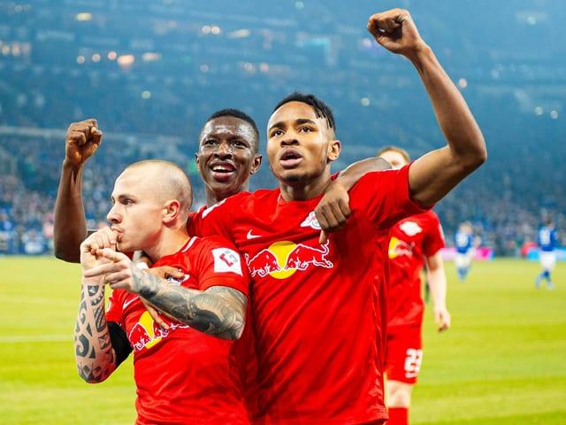 Leipzig liess Schalke keine Chance.