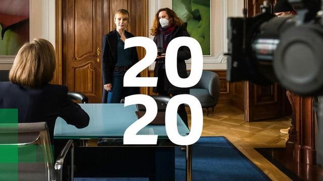 Titelbild SRG-Geschäftsbericht 2020