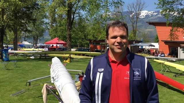 Christian Stofer an der 32. internationalen Lauerzersee-Regatta