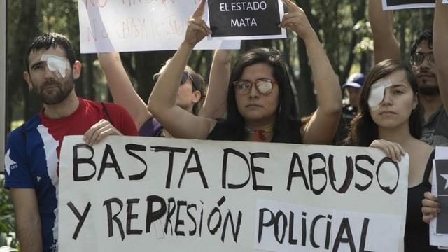 Demonstration gegen Polizeigewalt