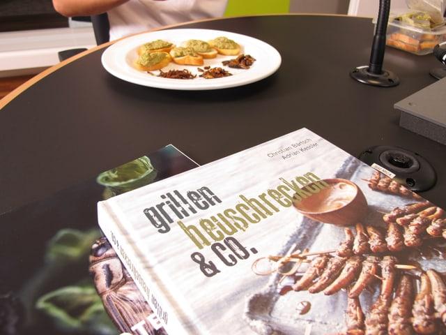 Kochbuch «grillen, heuschrecken & co.»