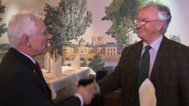 Jogi Lederer und Rolf Büttiker