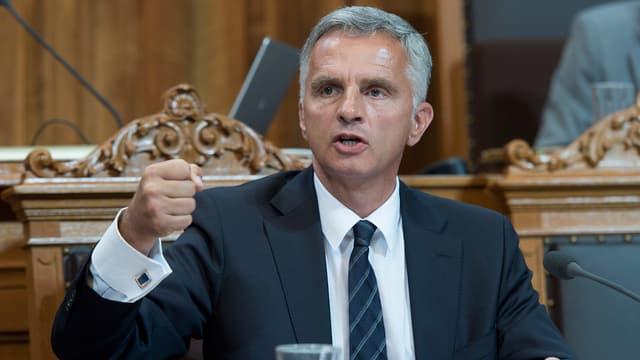 Bundespräsident Didier Burkhalter.