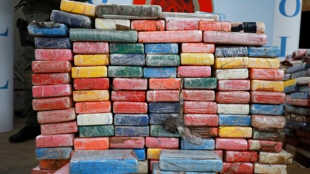 3,8 Tonnen Kokainfund am Hamburger Hafen. (keystone)
