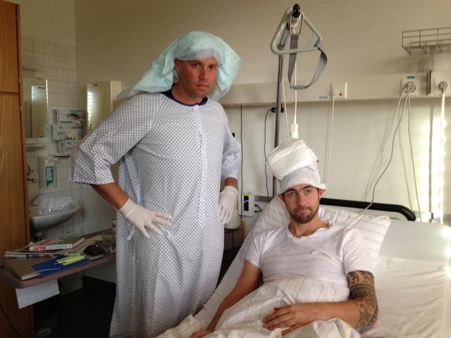 Jonny Fischer und Manu Burkart