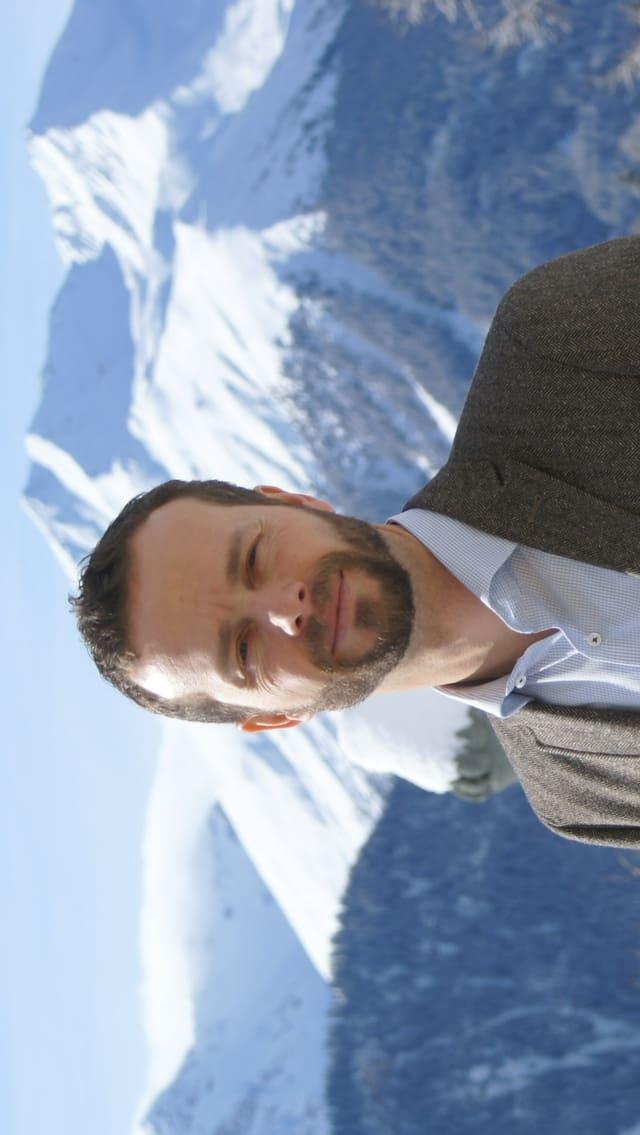 Il directur ad interim da l'Institut Otalpin Ftan, Sven A. Kohler