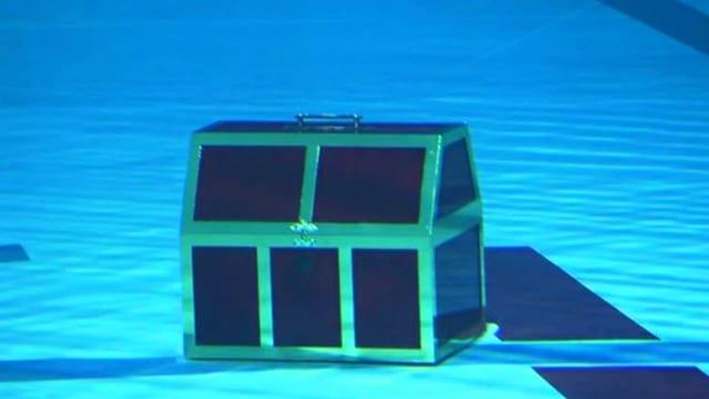 Video «Achtung! Experiment: Schatzbergung mit Auftrieb (45/52)» abspielen