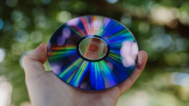 Bild einer CD