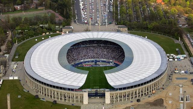 Olympiastadion von Berlin