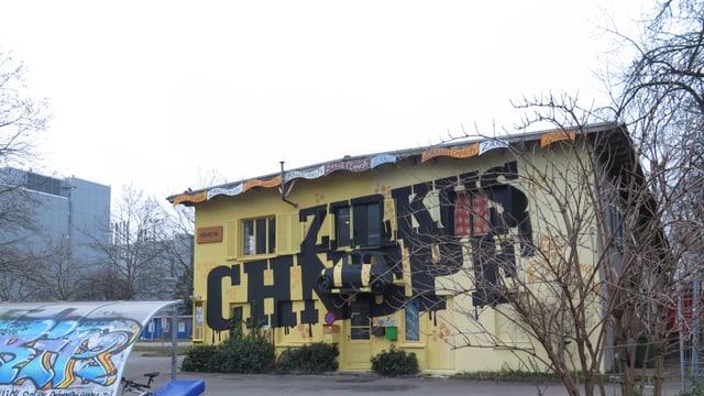 Das Winterlager des Zirkus Knopf auf dem Koch-Areal