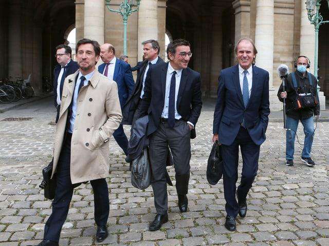 Die Anwälte von Amiens dem Gerichtsgebäude