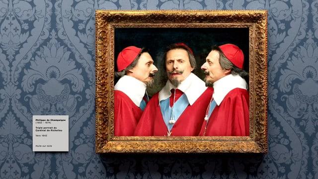 Video «Bilder allein zuhaus: Dreifaches Porträt von Richelieu (30/30)» abspielen