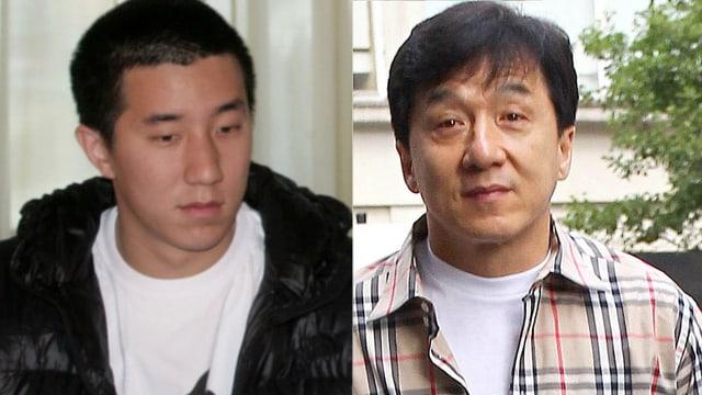 Jaycee und Jackie Chan