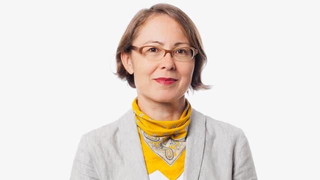 Porträt der DRS 2-Redaktorin Barbara Basting.