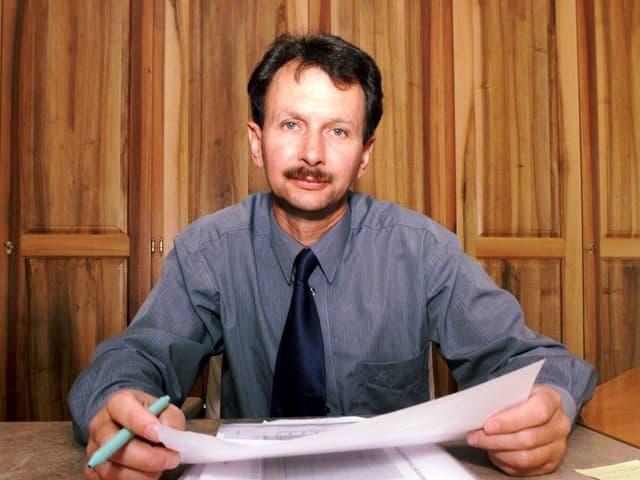 Phlilipp Müller im Jahr 2000
