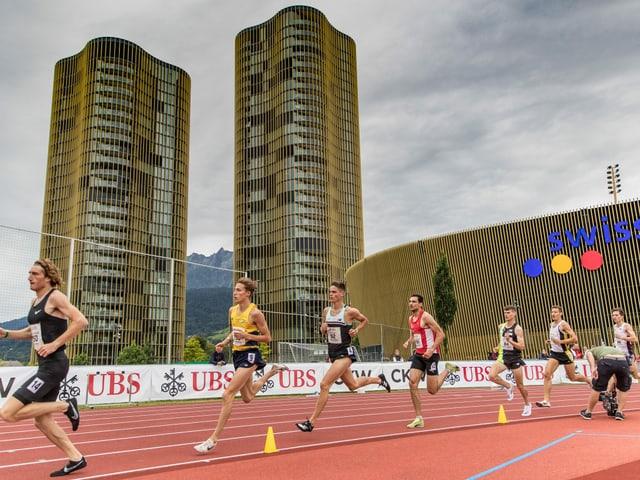 Das Meeting «Spitzen Leichtathletik Luzern».
