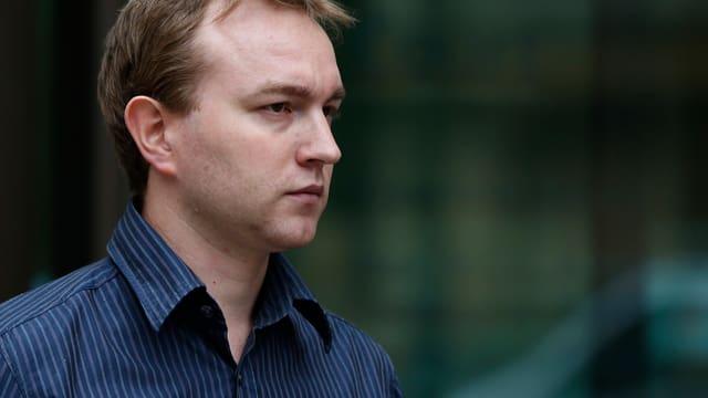 Tom Hayes nach einem Termin am Westminster Magistrates Court am 20. Juni 2013.