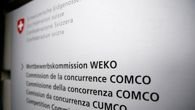 Weko-Tafel