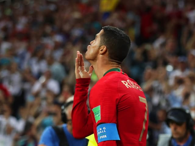 Cristiano Ronaldos Jubel