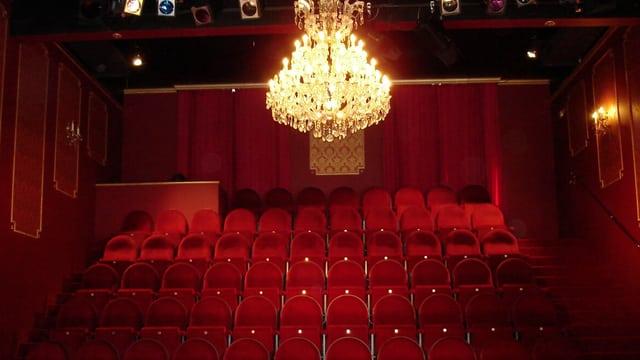 Theatersaal des Kleintheaters «Kammerspiel Seeb» in Bachenbülach