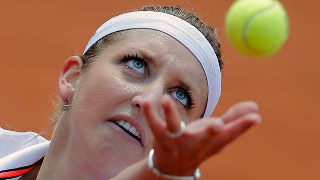 La giugadra da tennis svizra Timea Bacsinszky