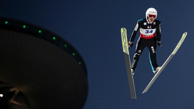 Simon Ammann gehört zu den Teamleadern in der Schweizer Delegation.