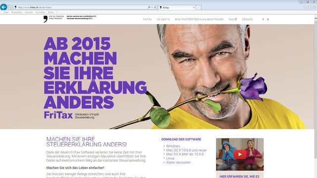 Internetportal fritax.ch